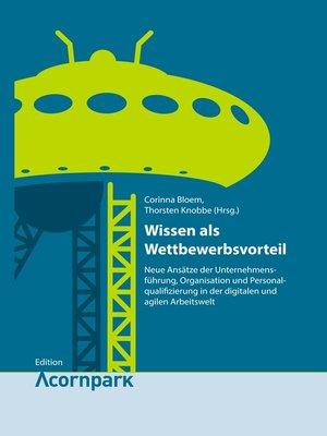 cover image of Wissen als Wettbewerbsvorteil