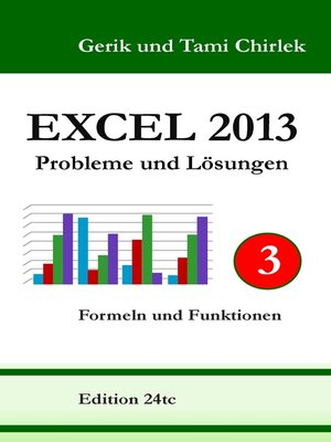 cover image of Excel 2013. Probleme und Lösungen. Band 3