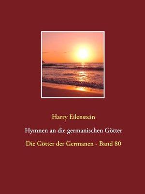 cover image of Hymnen an die germanischen Götter