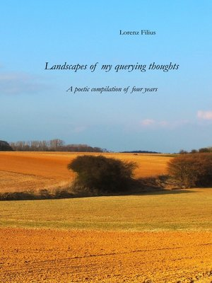 cover image of Landscapes of my querying thoughts