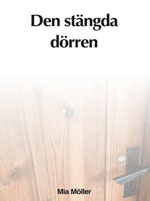 cover image of Den stängda dörren