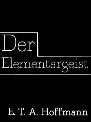 cover image of Der Elementargeist