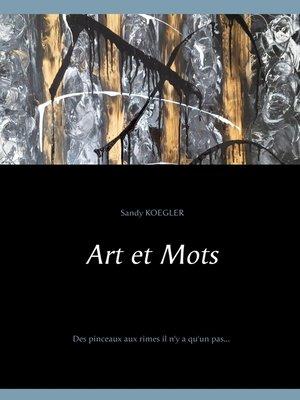 cover image of Art et Mots