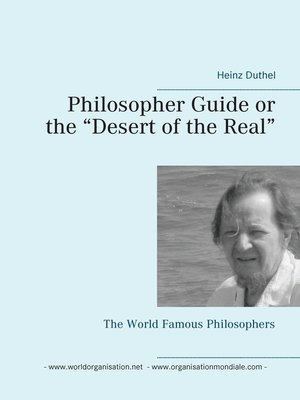 "cover image of Philosopher Guide or the ""Desert of the Real"""