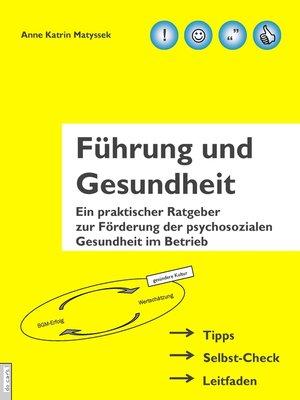 cover image of Führung und Gesundheit