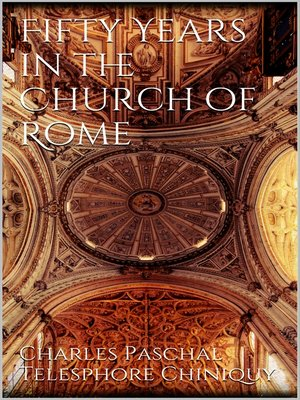 cover image of Fifty Years in the Church of Rome