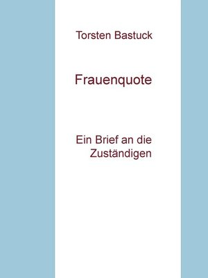 cover image of Frauenquote