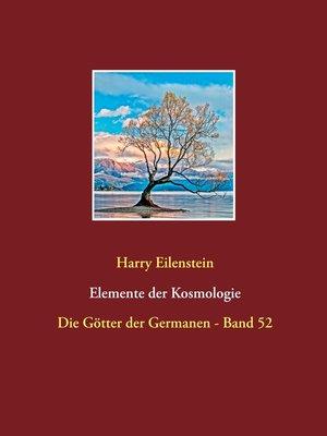 cover image of Elemente der Kosmologie