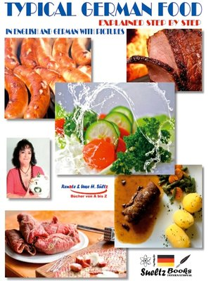 cover image of Typical German food