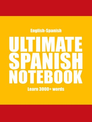 cover image of Ultimate Spanish Notebook