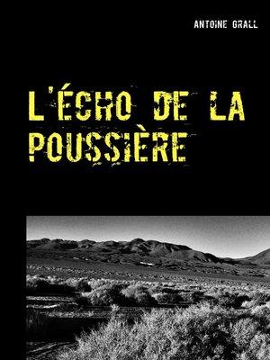 cover image of L'écho de la poussière
