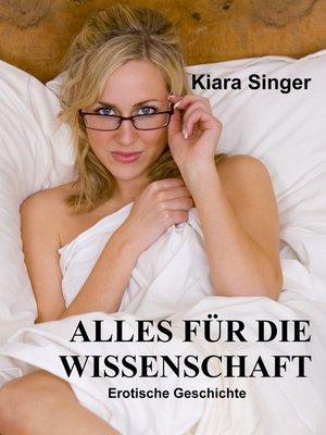 cover image of Alles für die Wissenschaft