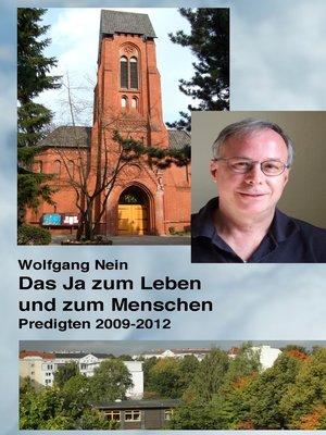 cover image of Predigten 2009--2012