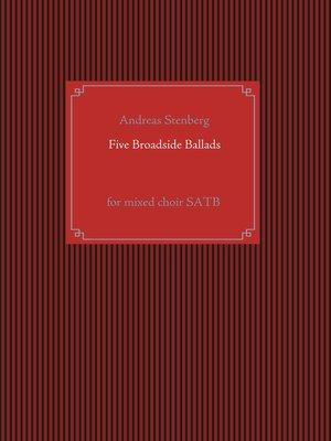 cover image of Five Broadside Ballads