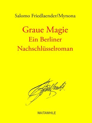 cover image of Graue Magie