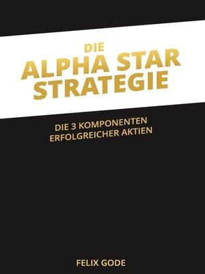 cover image of Die Alpha Star-Strategie