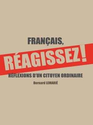 cover image of FRANÇAIS, REAGISSEZ !