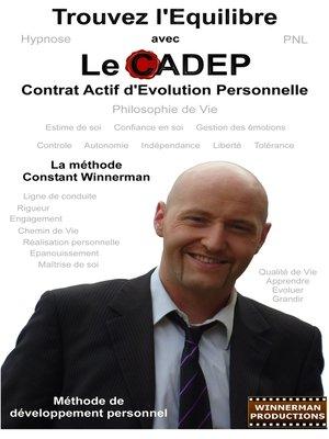 cover image of Trouvez l'Equilibre avec le CADEP