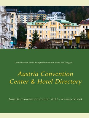 cover image of Austria Convention Center Directory