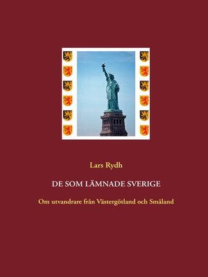 cover image of De som lämnade Sverige
