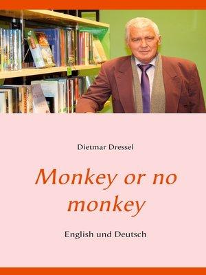 cover image of Monkey or no monkey