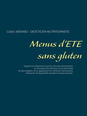 cover image of Menus d'été sans gluten