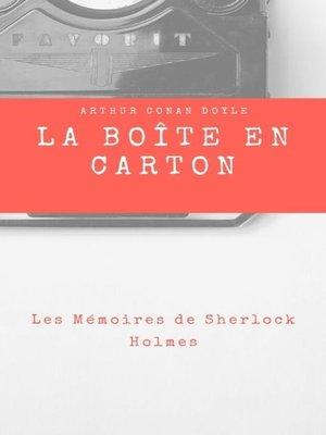 cover image of La Boîte en Carton