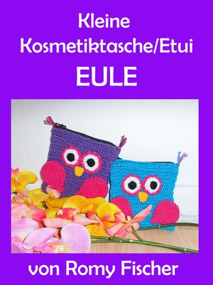 cover image of Kleine Kosmetiktasche/Etui Eule