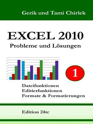 cover image of Excel 2010 Probleme und Lösungen Band 1
