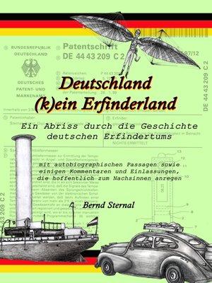 cover image of Deutschland (k)ein Erfinderland