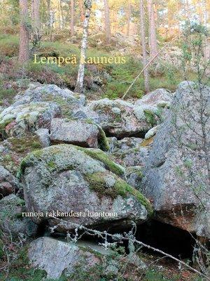 cover image of Lempeä kauneus