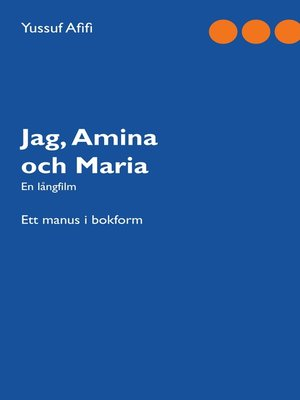 cover image of Jag, Amina och Maria