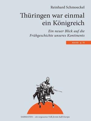 cover image of Thüringen war einmal ein Königreich