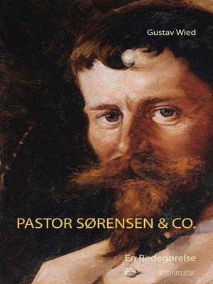 cover image of Pastor Sørensen & Co.