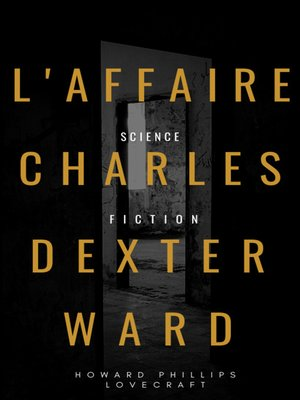 cover image of L'Affaire Charles Dexter Ward