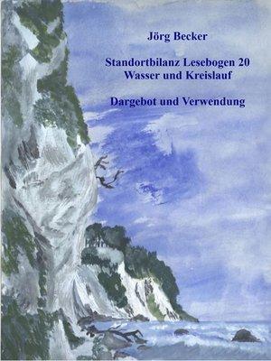 cover image of Standortbilanz Lesebogen 20 Wasser und Kreislauf