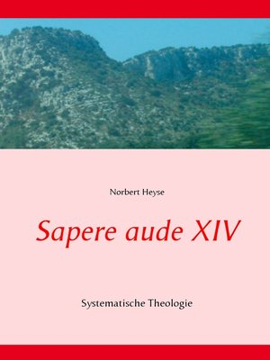 cover image of Sapere aude XIV