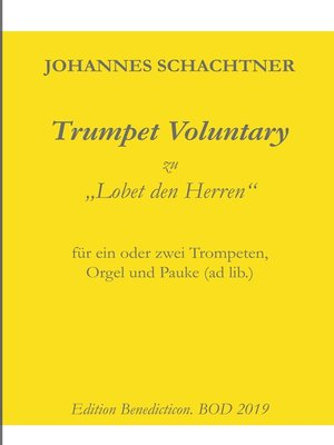 cover image of Trumpet Voluntary