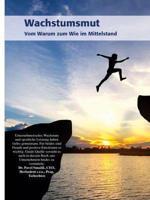 cover image of Wachstumsmut