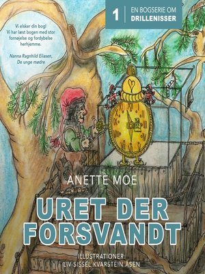 cover image of Uret der forsvandt