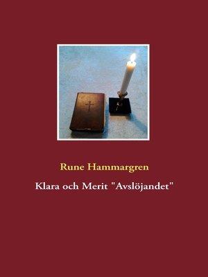 """cover image of Klara och Merit """"Avslöjandet"""""""