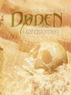 cover image of Døden i sandstormen
