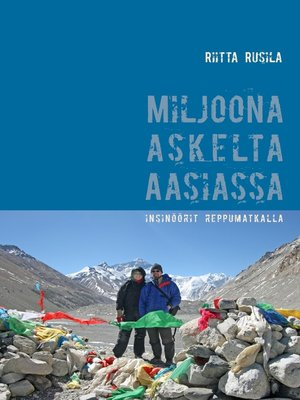 cover image of Miljoona askelta Aasiassa