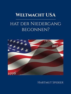 cover image of Weltmacht USA--hat der Niedergang begonnen?