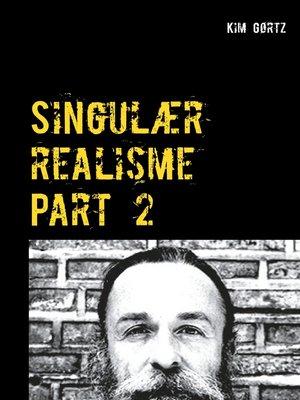 cover image of Singulær realisme