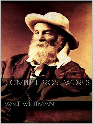 cover image of Complete Prose Works