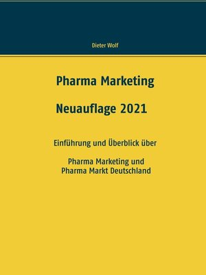 cover image of Pharma Marketing