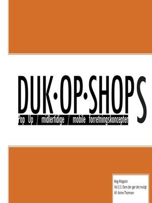cover image of Duk Op Shops vol 2.1