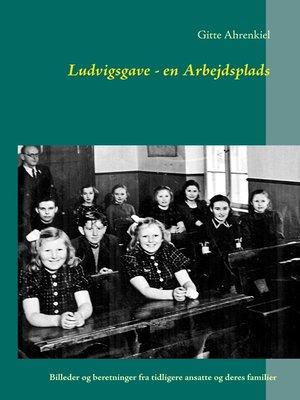 cover image of Ludvigsgave--en Arbejdsplads