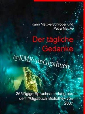 cover image of Der tägliche Gedanke